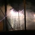 09筑波山に点火